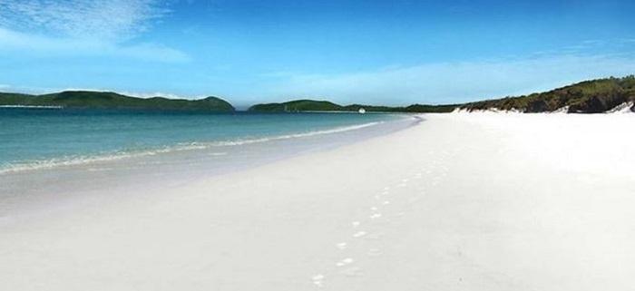 Белый песок Австралии