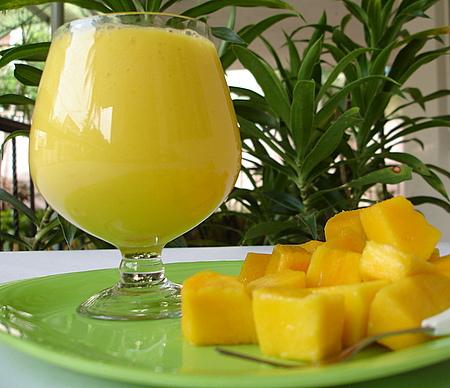 бокал манго