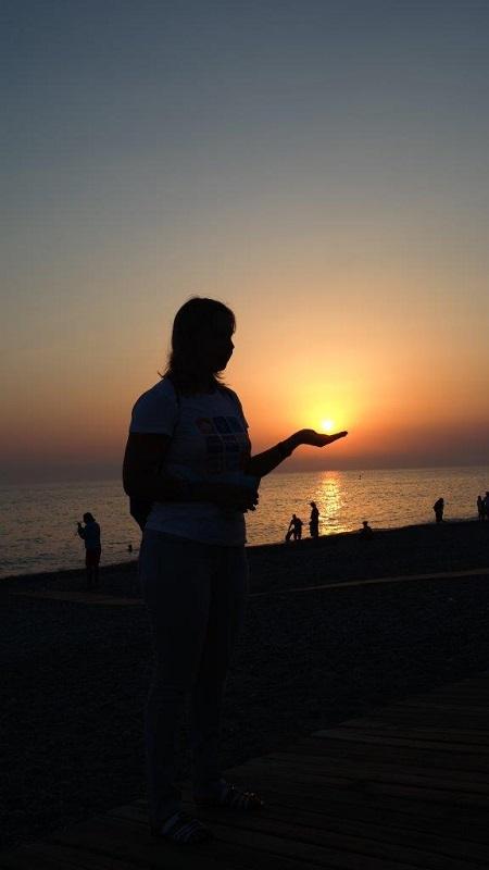 6-6. Турецкие закаты это конечно не боракайские, но тоже красиво...