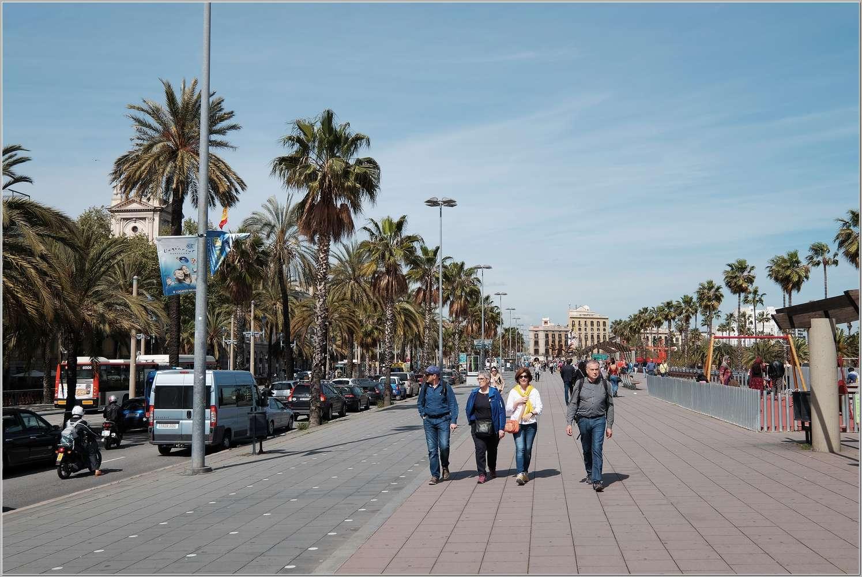 5. Семь дней в весенней Барселоне. Прогулки по городу_001