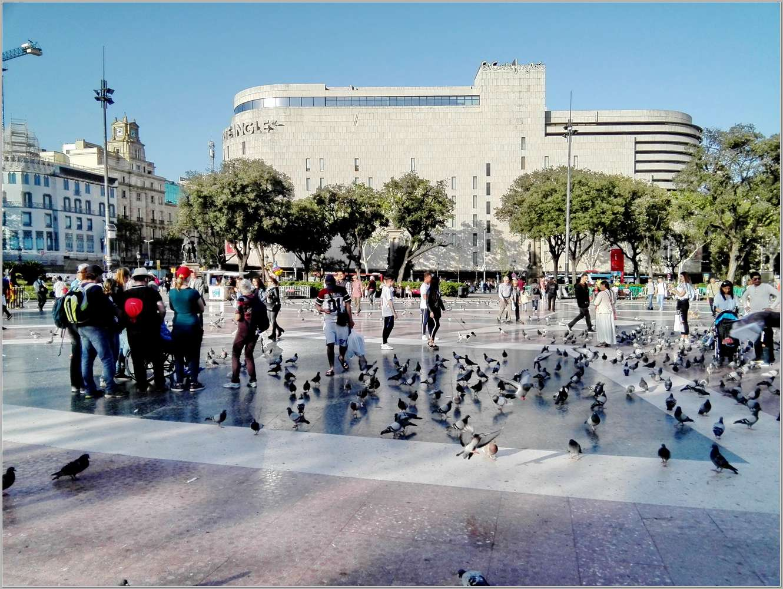 5. Семь дней в весенней Барселоне. Прогулки по городу_021