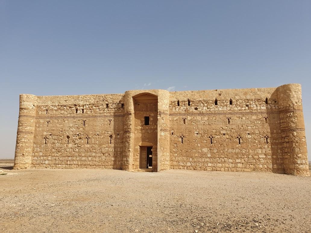 zandkasteel woestijn