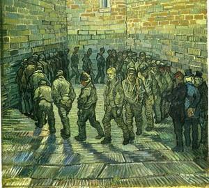 Ван Гог. Прогулка заключённых