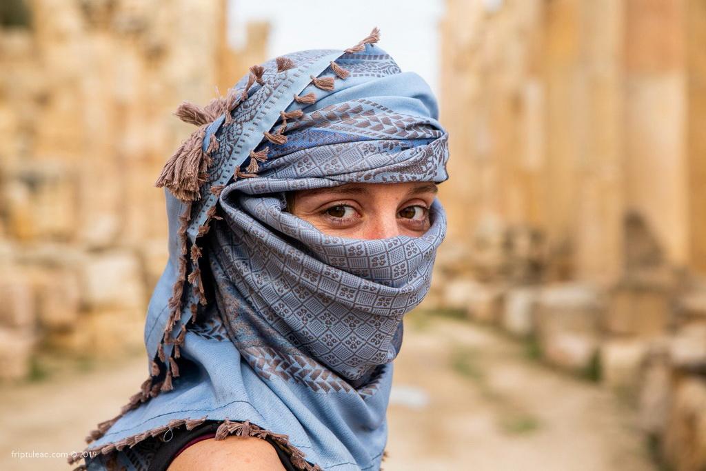 Jerash city in Jordan, ruins of the walled Greco-Roman settlement-6326