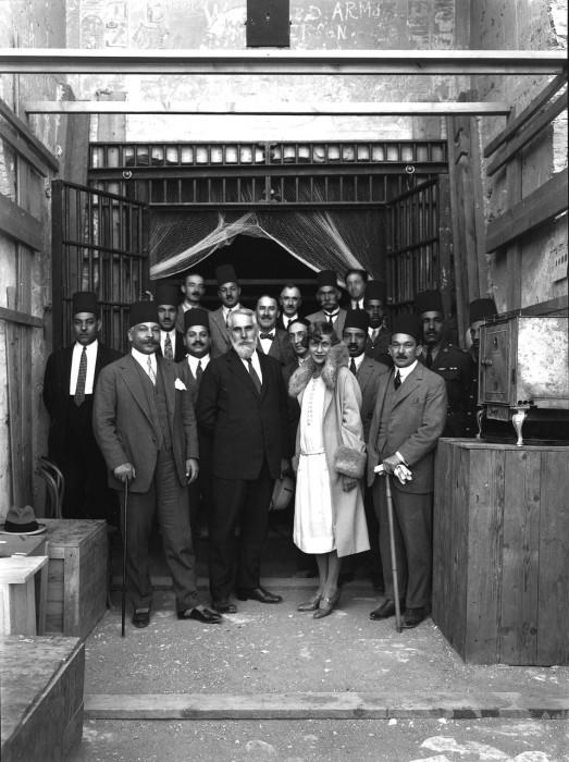 Посетителями были первые лица Египта.