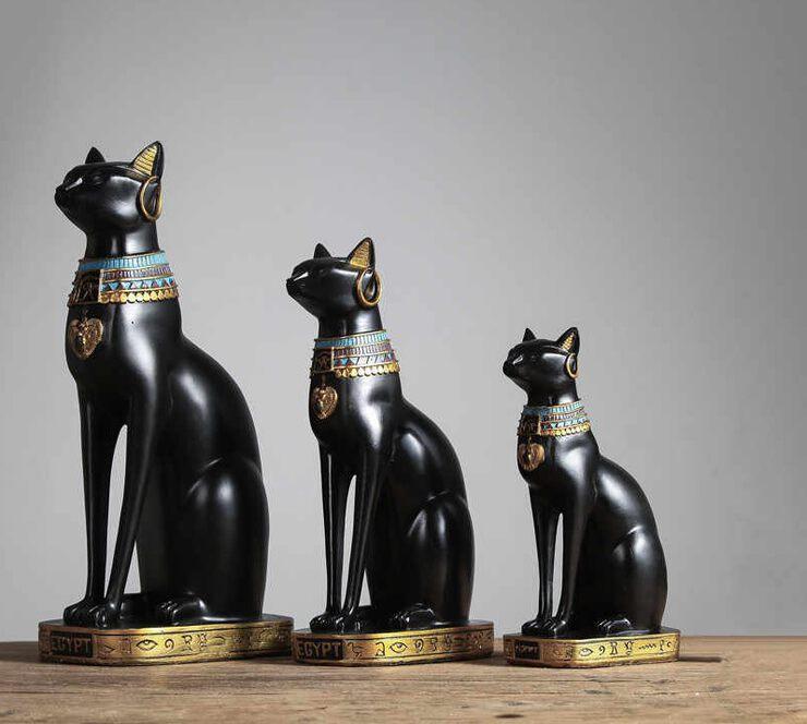 Статуэтка Черная Кошка - опасный или... нужный талисман?