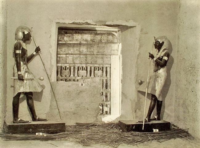 Статуи Ка фараона Тутанхамона.
