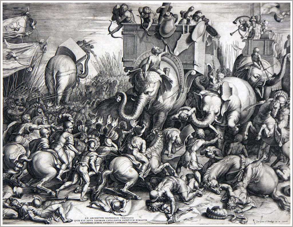 Slaget_ved_Zama_-_Cornelis_Cort,_1567