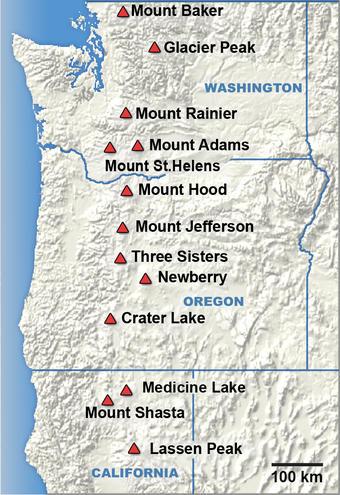 Cascade Range...